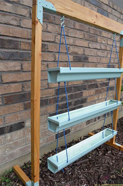 Gutter Planter by Hanging Gutter Planter And Stand Tool Belt