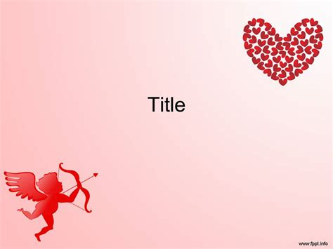 valentines day template free powerpoint templates for s day