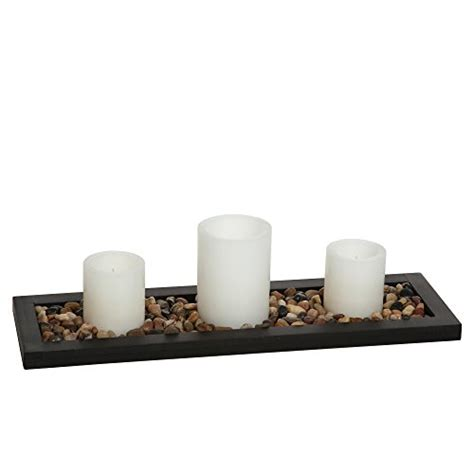 Decorative Stones For Candles by Hosley S Flameless Led Candle Gift Set Set Of 3 Pillar
