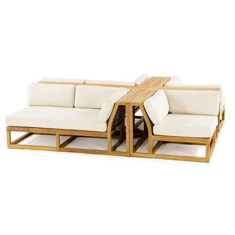 Teak Sectional Outdoor Furniture by Teak Outdoor Sectional Set Westminster Teak Outdoor