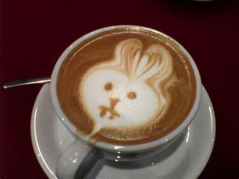 milk design on coffee coffee art weirdomatic