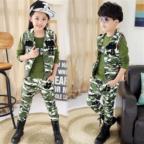 Jacket Bebe Army 2015 autumn boys children s clothing sets vests