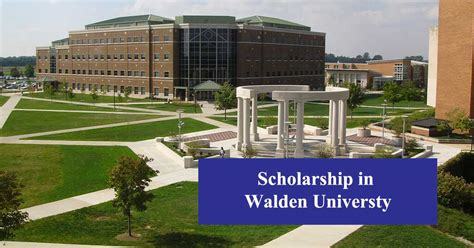 Walden Mba Ranking by Scholarship Of Walden Scholarshipcare