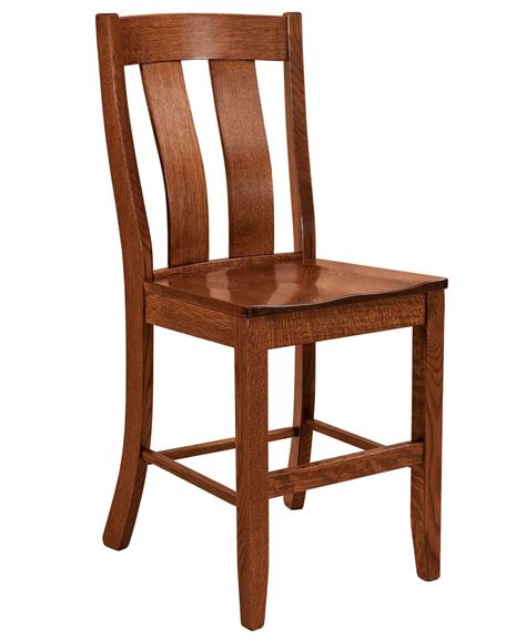 Amish Oak Bar Stools by Laurie Bar Stool Amish Direct Furniture