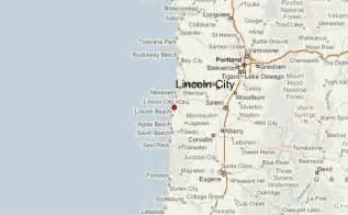 lincoln county oregon map lincoln city location guide
