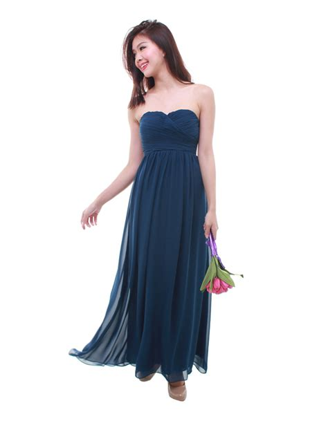 Cleo Maxy 2 cleo maxi dress in navy blue the bmd shop your