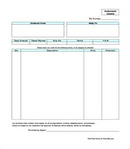 purchase order template 10 download free documents in