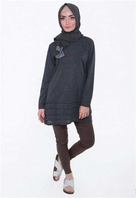 Camerello Dress Ory Gamis Monochrom Murah one stop shopping inherstore