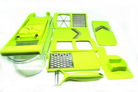 Multi Kitchen Set Dari Jaco kitchen 10 sets of small tools shredded sliced set pemotong sayur green jakartanotebook