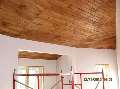wood planking for ceilings update wood plank ceilings