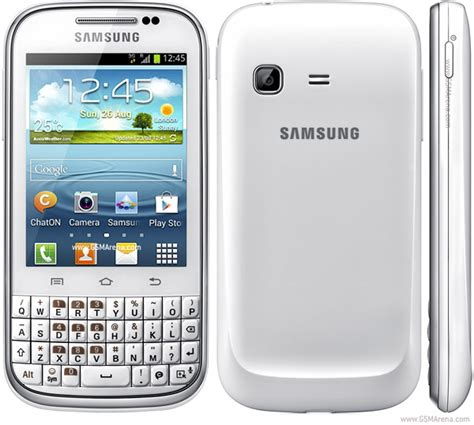 Hp Samsung Galaxy samsung galaxy chat b5330 pictures official photos