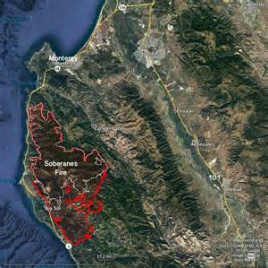 updates on three california fires soberanes chimney and