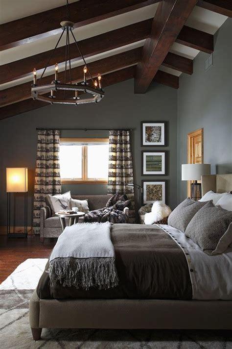 Best 25  Vaulted ceiling bedroom ideas on Pinterest   Grey