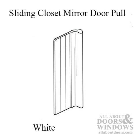 Sliding Closet Door Pull by Mirror Door Pulls Sliding Closet Door Pulls All About