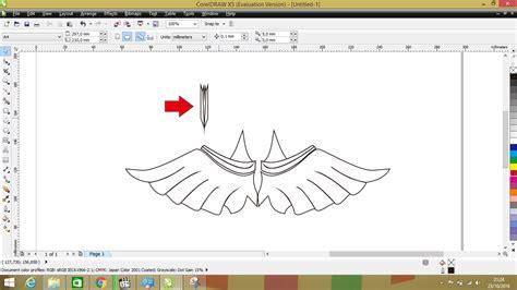membuat logo di corel draw x5 membuat logo menggunakan corel draw x5 kuas