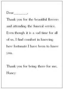 thank you card templates sympathy thank you card