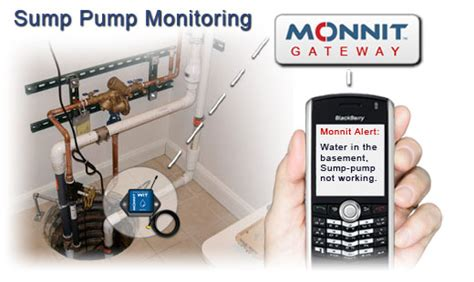using wireless sensors to monitor sump pumps monnit