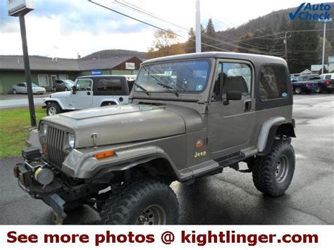 1991 Jeep For Sale Used 1991 Jeep Wrangler For Sale Carsforsale
