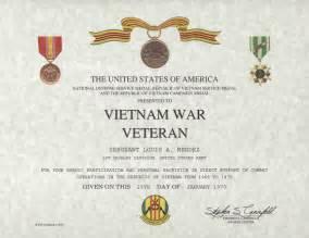 army conduct medal certificate template rvn war veteran certificate
