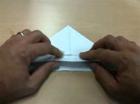 bootje van papier youtube simpel bootje van papier vouwen youtube