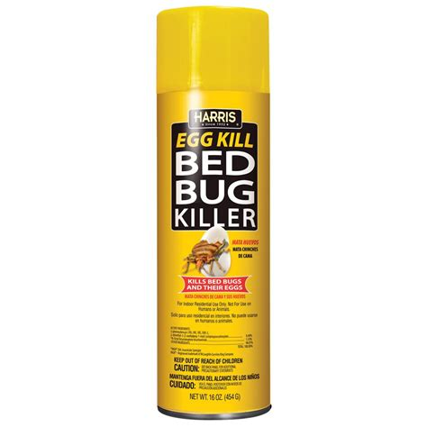bed bug spray aerosol egg kill pf harris