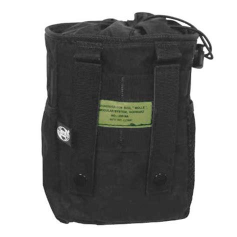 molle pouches black mfh dump pouch molle black other pouches 1st