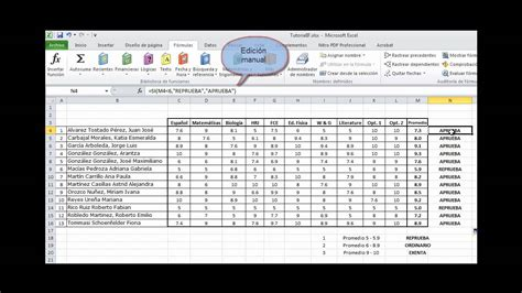 tutorial en excel 2010 tutorial de la funci 243 n si en excel 2010 youtube