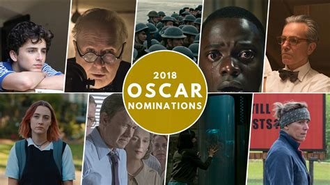 Oscar Nominations 2018 List Shape Of Water Leads