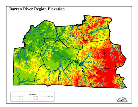 kentucky elevation map thriving earth exchange