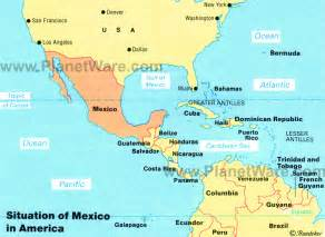 america map mexico map of mexico mexican states planetware