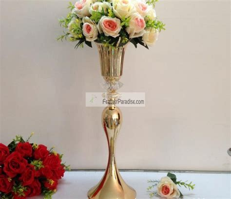 Metal Vases Real Metal Floral Riser Stand Centerpieces