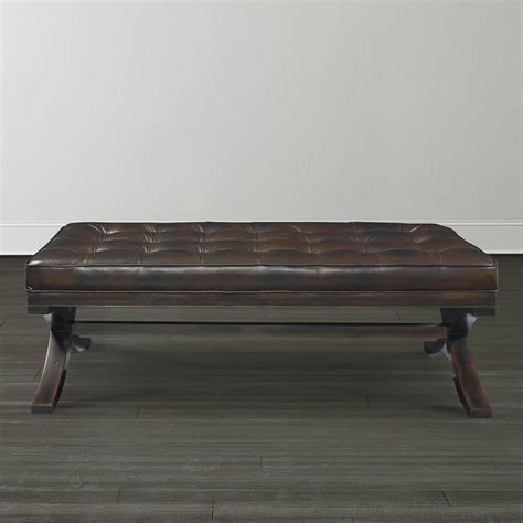 Ottoman Cocktail Table Sleek Lines