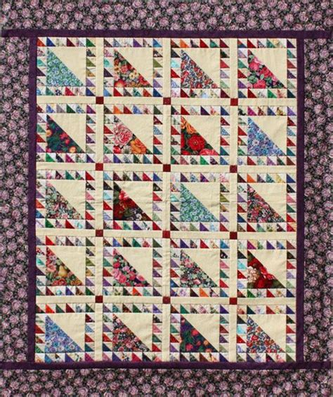free pattern triangle quilt 17 best images about quilt 1 2 square triangle on pinterest