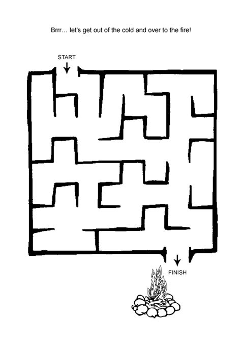 printable easy mazes for toddlers free online printable kids games easy maze