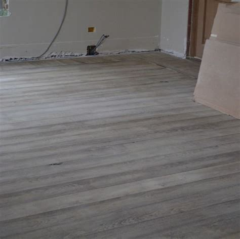Gray Stained Wood Floors by I Lost What S Left Of Mind I M Thinking Some Sort
