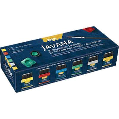 Javana Set 32 stoffmalfarbe mytoys