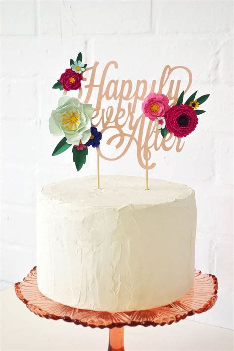 Handmade Wedding Cake Toppers - best 25 diy cake topper ideas on diy birthday