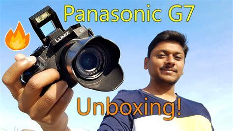 cheapest mirrorless panasonic g7 cheapest 4k mirrorless unboxing