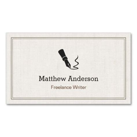 writer business card template 17 best images about editor business cards on