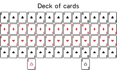 Deck Of Cards By Seloh On Deviantart Deck Of Cards Template