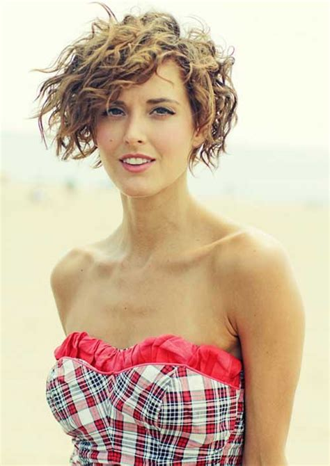 curly asymmetrical bob hairstyle 10 good curly asymmetrical bob short hairstyles 2017