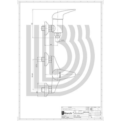 miscelatore esterno doccia miscelatore monocomando esterno doccia esdmon200500