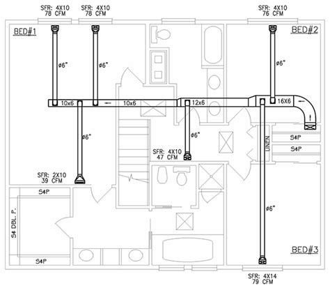 creating a floorplan creating a hvac floor plan best free home design