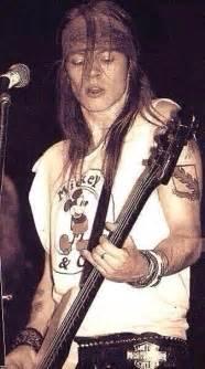 Axl rose grunge rock young 80 s artist singer