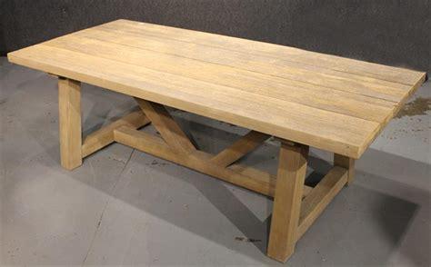 restoration hardware outdoor table igavel auctions restoration hardware outdoor plank style