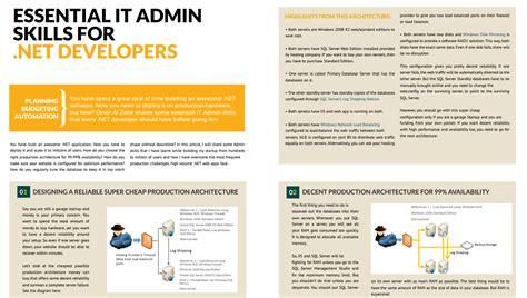 essential it admin skills for net developers omar al