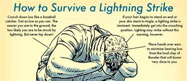 how to survive getting struck by lightning gizmodo australia