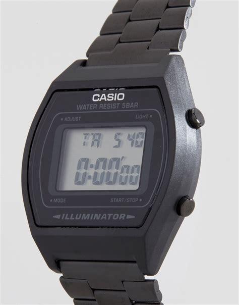 casio nero acciaio casio casio b640wb 1aef orologio digitale nero in