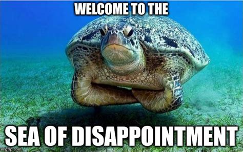 Disappointed Meme - welcome to the sea of disappointment memes