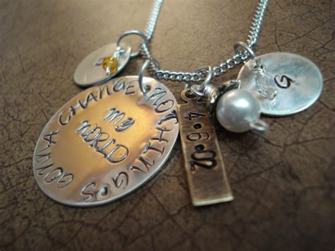 Handmade Personalized Jewelry - sted necklace sted personalized necklace